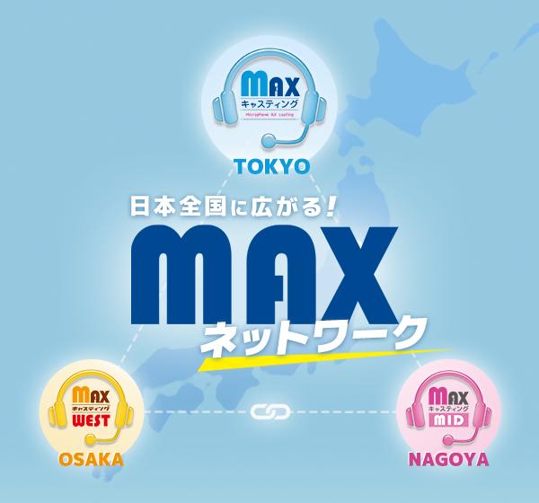 MAXキャスティングネットワーク